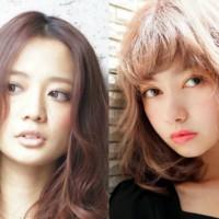 前髪の違いが印象変化のカギ