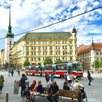 チェコ第2の都市・ブルノの市街散策