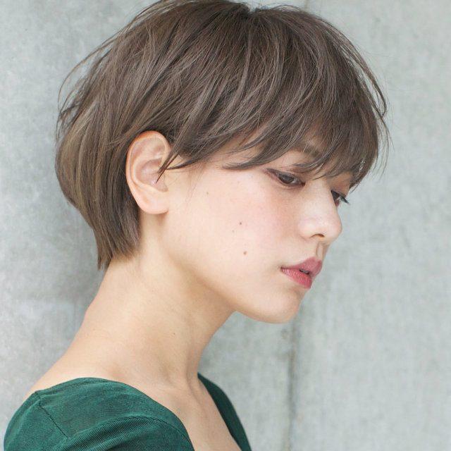 最旬ショートヘアは束感がオシャレ映えのコツ