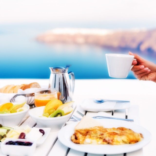 時には記憶に残る朝食を
