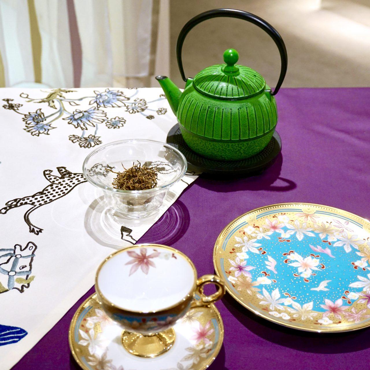 お茶ではじまりお茶で終わる中国茶の愉しみ方
