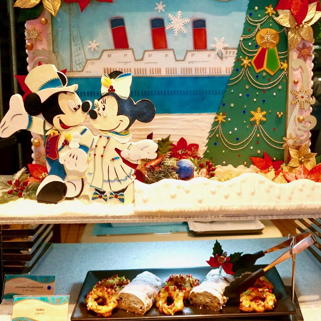 ディズニーホテルで愉しむクリスマスメニュー2018