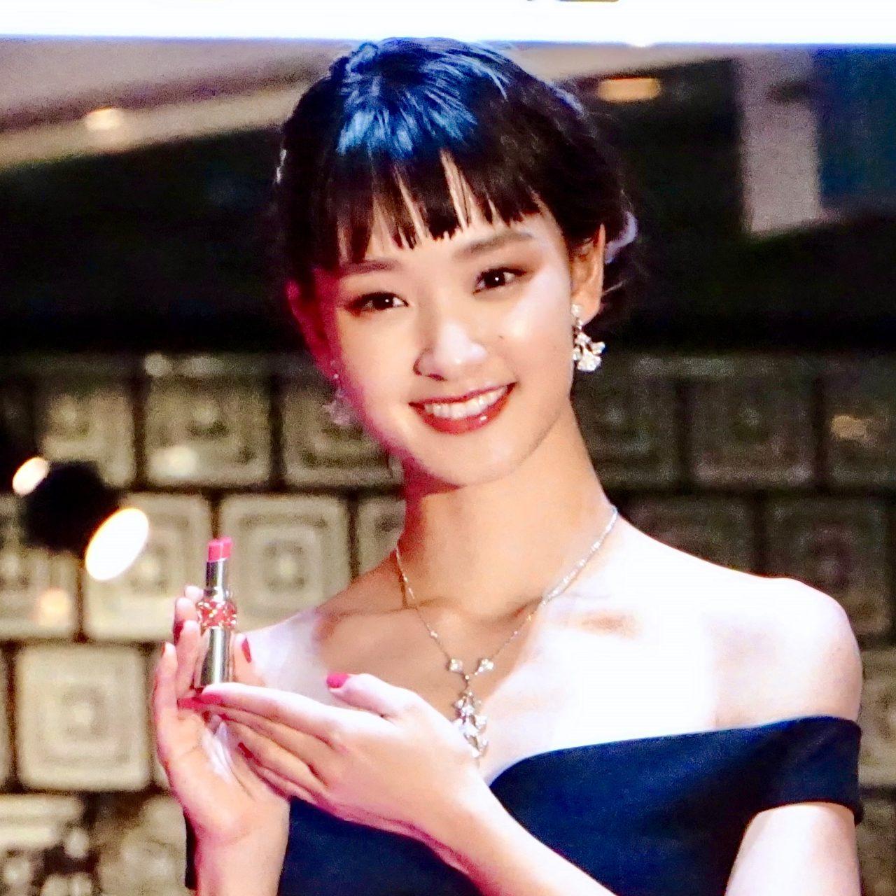 剛力彩芽さんが選ぶ2019春のシーン別リップカラー