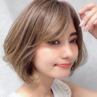 大人っぽい表情を演出する最旬前髪スタイル