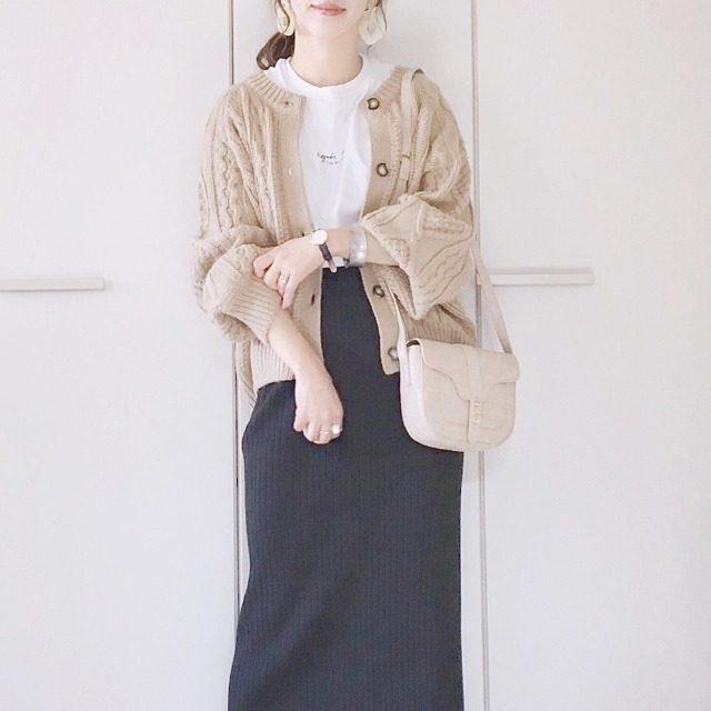 バリエーション豊富guスカートで愉しむ秋コーデ