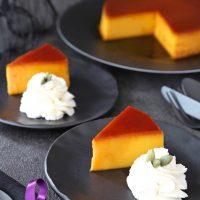 西洋かぼちゃで作るパンプキンプリンのレシピ