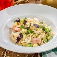 サーモン&ズッキーニのパスタ簡単レシピ